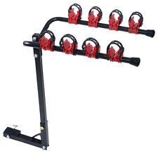 Heavy Duty 4 Bicycle Bike Rack Car Swing Down SUV Truck Van Hitch Mount Carrier