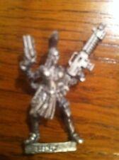 Necromunda Escher mismo usuario con Autogun y Stub Pistola Metal Warhammer 40K ooP