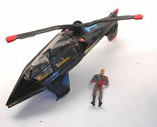 1996 JONNY QUEST action figures-Cyber copter avec figure