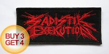 SADISTIK EXEKUTION R PATCH,BUY3GET4,BLASPHEMY,ARCHGOAT,REVENGE,BEHERIT,CONQUEROR