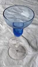 Bougeoir en verre de Murano authentique