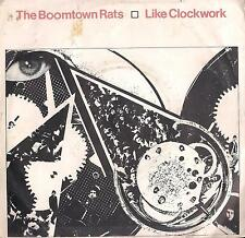 DISCO 45 GIRI      THE BOOMTOWN RATS - LIKE CLOCKWORK / HOW DO YOU DO?
