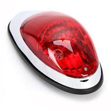 Red Integrated Running Brake Tail Light For Honda Yamaha Suzuki Kawasaki Cruiser