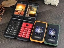 Unlocked Military Mobile Flip Phone Large Keys, Loud Speaker, GSM, Cool Gift Bid