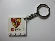 LEGO Harry Potter Keychain ring COLLECTIBLE House Crest Gryffindor 2010 (PG568)