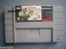 SUPER NINTENDO SNES CHRONO TRIGGER RPG BATTERY TESTED WORKS AUTHENTIC ORIGINAL