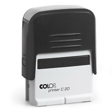 Rubber stamp Self-inking COLOP Printer C20 3-4 Lines with Custom Text / Logo