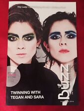 Tegan and Sara Buzz June / July 2016 Canada Import Magazine NEW