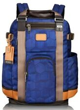 TUMI LEJEUNE ALPHA BRAVO BACKPACK TOTE NAVY 222380 BLUE GEO NEW  $475