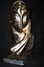 Amazing Abstract bronze sculpture signed by Constantin Brancusi
