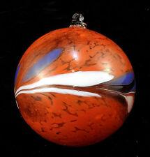 Boule de Noël en verre sulfurisé