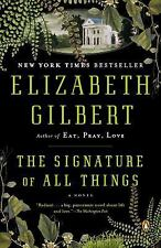 The Signature of All Things (2014, Paperback)