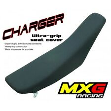 MXG CHARGER MOTOCROSS SEAT COVER HONDA CR500R 87-01  (BLACK)