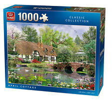 King April Cottage Quality Jigsaw Puzzle 1000 Pieces - Brand New