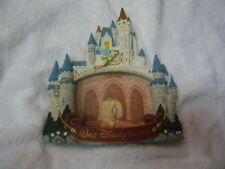 Walt Disney World magical kingdom princess castle with tinker bell picture frame