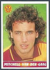 PANINI SCOTTISH FOOTBALL LEAGUE 97- #225-MOTHERWELL-MITCHELL VAN DER GAAG