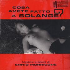 Ennio Morricone - OST Cosa Avete Fatto A Solange? Red (LP - 1972 - EU - Reissue)