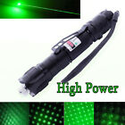 Powerful 10 Miles 532nm Green Laser Pointer Pen Visible Beam Light Lazer USA