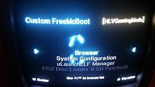 Modded Sony Playstation 2 PS2 320GB Hard Drive Free McBoot Loaded 3,000 Games