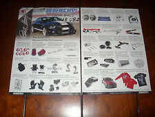 CARROLL SHELBY PERFORMANCE PARTS - 2011 ORIGINAL 2 PAGE AD