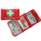 38PC FIRST AID KIT EMERGENCY SAFETY PLASTERS TRAVEL HOME OFFICE CAR WORK SPORTS