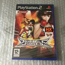 VINTAGE# PS2 PLAYSTATION  RUMBLE ROSES KONAMI #PAL SEALED