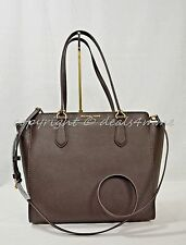 Michael Kors Dee Dee Large Convertible Saffiano Leather Tote/Shoulder Bag Coffee