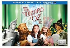 THE WIZARD OF OZ : 75th Anniversary Collector's Box - Blu Ray - New Region free