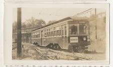 PITTSBURGH RAILWAYS Trolley SOUTH HILLS Car Yard PA Pennsylvania 1938 Photo 1