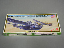 SKY WAVE 1/700 B-17 Flying Fortress & Catalina Kit  Model Planes Kit #a4