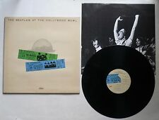 The Beatles At The Hollywood Bowl Live LP Early Pressing