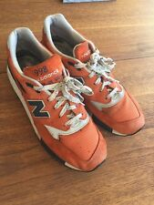 New Balance 998 Made In USA Running Shoe Sneaker Vintage Style Men's 11