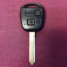 Toyota Yaris Avensis Corolla Carina ETC 2 button remote key fob TOY47 ID4D67
