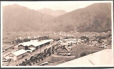 VINTAGE PHOTOGRAPH 1920'S TOKYO JAPAN INDUSTRIAL RAILROAD TRAIN TRACKS OLD PHOTO