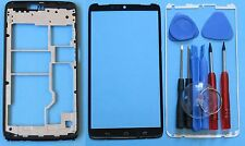 Motorola Droid Turbo XT1254 Front Touch Screen Glass Lens+ Faceplate Bezel+ Tool