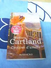 Destino d'amore Barbara Cartland Harmony 3 romanzi in 1