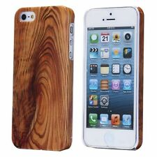 Dark Knot Wooden Pattern Hard Plastic Case for iphone 5 5s