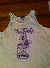 1999 Cherry Hill High School West Graduation Sleeveless White T-shirt XL LION