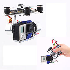 CNC FPV BGC 2 Axis Brushless Gimbal + Gimbal Controller for GoPro 3 Camera DJI