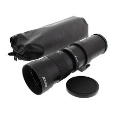 420-800mm F/8.3-16 Tele Manual Zoom Lens Fo NIKON D7000 D5200 D3300 D3200 Df D90