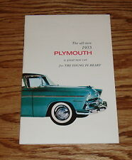 1955 Plymouth Owners Operators Guide Manual 55