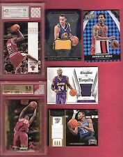MICHAEL JORDAN STEPHEN CURRY LEBRON JAMES RC 9.5 KOBE BRYANT DERRICK ROSE JERSEY