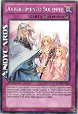 Avvertimento Solenne ☻ Comune ☻ LCYW IT301 ☻ YUGIOH ANDYCARDS