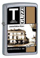 Zippo TABACCHERIA GUZZI BY MAZZI LIMITED EDITION 50  Lighter Feuerzeug Briquet