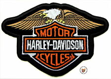 HARLEY DAVIDSON DOWN WING EAGLE BAR AND SHIELD PATCH ** DISCONTINUED **