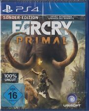 Far Cry Primal SPECIAL EDITION-PLAYSTATION 4/ps4 NUOVO & OVP versione tedesca
