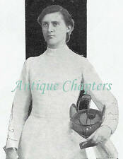 Ju-Jitsu Fencing Tennis Toupee Lowther Toupie Lowther 1906 Photo Article A137