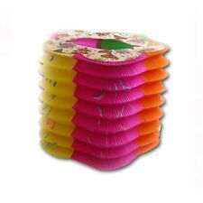 12 Multi-Color Linternas Chinas Decorativo De Papel