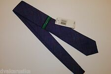 NWT 100% Authentic Tommy Hilfiger Chambray Prints II Tie