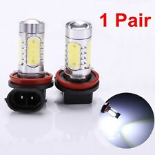2pcs 7.5W Bright White 6000K H11 LED Light Bulb Fog Daytime Driving Lamp DC 12V